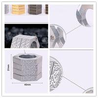 Многоцелевое деформируемое кольцо Изделия для самообороны Кольцо из латуни с крестообразным наконечником Волшебное кольцо Тип пряжки для самообороны Относится к спасению тигра