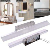 Liniowy kinkiet ścienny LED łazienka zaprawa oświetlenia białe światło ścienne montowane na ścianie Morden wanna światło baru srebrny kolor