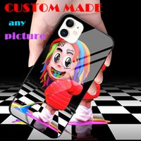 Customized any picture Custom made DIY Tempered Glass Silico...