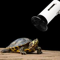 الولايات المتحدة القياسية 110V 200W السيراميك مصباح الحرارة مصابيح الأشعة تحت الحمراء ضوء لمبة (الزواحف / الحيوانات الأليفة / البرمائيات / الدواجن) 110V الحيوان السيراميك مصباح التدفئة دي إتش إل الحرة