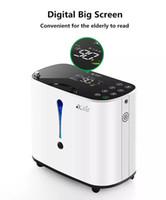 Concentrador de oxígeno de la pelvifina 1-6L / mináactable Máquina de oxígeno portátil ajustable Inicio Viaje Uso Oxigeno Medicoe AC110-220V