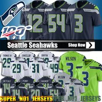 49 Shaquem Griffin Jersey 3 Russell Wilson Jersey Seattle Se...