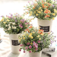 New Idyllic Simulation Wild Chrysanthemum Artificial Flowers...