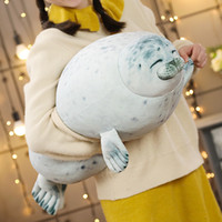 30/40 / 60см супер мягкие уплотнения подушки высокого качества Плюшевые игрушки аквариум море животное Подушка куклы Сонный Удовлетворенный Seal