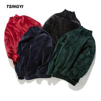 Tsingyi Pullover Solid Astroworld Hoodies Men Women Kanye St...