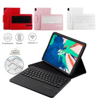 Wireless Keyboard For iPad Pro 11 inch 2018 Leather Stand Ca...