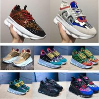 2019 Chain Reaction Men Women Luxury Designer Shoes Best Qua...