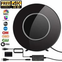 Satxtrem DVB-T2 هوائي التلفزيون الرقمي DVB لT2 هوائي التلفزيون HDTV داخلي 150 ميل المدى الهوائي مكبر للصوت UHF DVBT TDT TV استقبال T200608