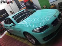 Crystal Gloss Tiffany Vinyl Wrap Glossy Car Wrap Film con bolle d'aria GRATIS per Auto Car Wrapping Sticker Decalcomania Dimensioni: 1.52 * 20m / rotolo