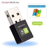 Ethernet AC 600 Mbps Receptor Wi-Fi USB LAN Adapter 2.4G 5GHZ PC Wifi Dongle Cartão de Rede