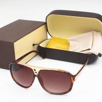 2020 1PCS 패션 럭셔리 증거 선글라스는 빈티지 남성 Z105 디자이너 반짝이 골드 프레임 레이저 로고 여성 패키지와 최고 품질의 복고풍