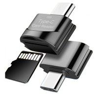 Mini Type C à Micro SD TF Vecteur de la carte mémoire OTG USB 3.1 USB-C Adaptateur