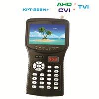 을 Freeshipping KPT-255H + AHD TVI CVI DVB-S2 디지털 위성 파인더 미터 CCTV 카메라의 LCD 백라이트 KPT-255h 더한 버튼 4.3 인치