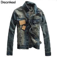 Giacche di jeans da uomo Vendita calda Cappotto di moda uomo Giacca da uomo Nuovo stile di moda Foro sottile Streetwear Formato asiatico
