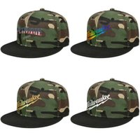 Designer Men mulheres cap bola Milwaukee American Tool snapbacks bandeira camuflagem Plano brimme Hip Hop Golf Travel Outdoor flash ouro