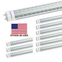 Auf in US + 4FT Rohr 60W warme kühle weiß 1200mm 4ft SMD2835 288pcs superhellen LED-Leuchtstoffbirnen AC85-265V UL geführt