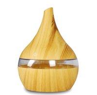 Luftbefeuchter 300 ml USB Elektrische Aroma Luftverteiler Holz Ultraschall Ätherisches Öl Aromatherapie Maschine Kühlen Nebelhersteller für Home Office