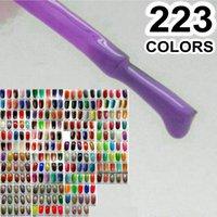 ~ ~ Eccellente di arte del chiodo del gel UV del polacco di colore Soak-off impregna fuori per Lampada UV LED UN PASSO GEL 15ml 5 once AODL professionali 223 colori * scegliere qualsiasi