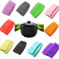 Luvas Pote de forno Tta2022-1 kitche à prova de aquecimento anti-escaldante casa para cozinhar mini-suportes criativos braçadeira de silicone usa luvas wfuod
