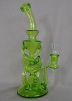 Creative Glass Bong Tuyau d'eau DAB Huile Plate-forme Taubac à tabac fait main Tuyaux de tabac de meilleure qualité Concombreur de la meilleure qualité Accessoires fumeurs