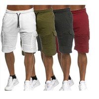 Mode Hommes Shorts 2020 Hip hop Hommes Shorts New Summer Casual Cotton Slim Masculina Plage Joggers hommes Pantalons