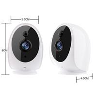 Cámara IP inalámbrica CCTV Vigilancia de seguridad CAM Baby Monitor batería cámara doméstica