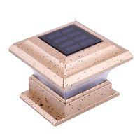 24led Sensor Solar Sensor Luz Ao Ar Livre Câmara Castinha Cerca De Cerca De Jardim À Prova D 'Água Lâmpada De Pilar Solar