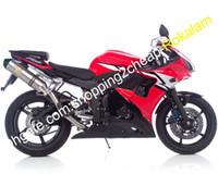 Yamaha Yzf600 03 04 YZFR6 YZF R6 YZF600R6 2003 2004 레드 블랙 화이트 ABS 오토바이 페어링 (사출 성형)