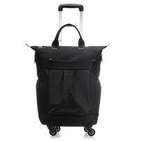 20 дюймов мужчины бизнес чемодан интернат коробка компьютер тележка путешествия мешок школы женщины прокатки багажа сумки человек водонепроницаемый колеса сумка