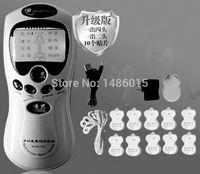 Zehner- / Akupunktur- / digitaler Therapie-Maschinen-Massager-elektronischer Impuls-Massager-Gesundheitswesen-Ausrüstung mit 4 Köpfen und 10 Auflagen SH190727