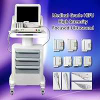 2020 nuova Medical Grade HIFU reale US standard High Intensity Focused Ultrasound Ascensore Hifu Viso Hifu dimagrante macchina con 3 o 5 punte