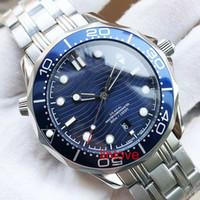 Luxo 42mm Mens relógios para homens Mar Professional Diver Assista Movimento automático cerâmicos Designer relógios moldura Mestre