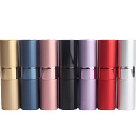 15ML Empty Lipstick Shape Glass Perfume Bottle 15ML Rotary T...