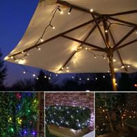 100 LED LED LED Solar Light Fairy Strip Lampe de vacances en plein air Imperméable Mariage De Mariage De Noël Décor Nouvel An Décor