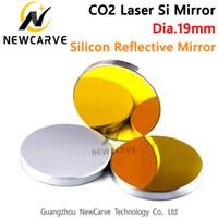 قطر 19MM سي مرايا CO2 ليزر عاكس مرآة ليزر CO2 آلة نقش NEWCARVE