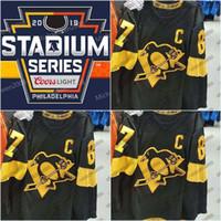 Jake Guentzel 2019 Stadium Series Jerseys Mens Patric Hornqvist Phil Kessel Kris Letang Evgeni Malkin Sidney Crosby Pittsburgh Hockey Jersey
