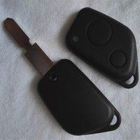 Uzaktan Anahtar Shell Peugeot 106 205 206 306 307 405 406 Otomatik Değiştirme Anahtar Case Citroen Fob Kapak 2 Düğmeler Araba