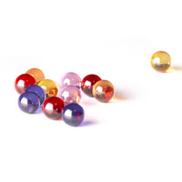 6mm Terp Pearl with pink, red, purple colorul pearls ball na...