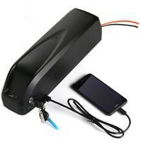 48V 13AH 850W downtube USB Hailong Batterie Ebike Batterie Lithium-Batterie-Ladegerät Senden UPS FEDEX TNT freies Schiff keine Steuer