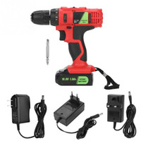 16. 8V Electric Lithium Cordless Drill Screwdriver Profession...