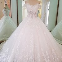 Ivory Bridal Gown Off The Shoulder Sweetheart Beading See Th...
