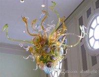 Los más vendidos marroquí decoración de la boda del vidrio cristalino de la lámpara de mano barato Vidrio soplado pequeña luz de la lámpara LED Bombillas Con