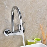 Kitchen In- wall Cold Hot Single Hole Water Sink Faucets Mode...