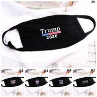 ABD STOK Trump Yüz 5 Styles Pamuk toz geçirmez Ağız Trump 2020 Harf Baskılı Yüz Koruyucu Kapak Maskeleri fy9122 Maske