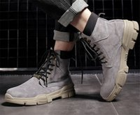 Top 2020 printemps et automne hiver nouvelles chaussures de sport pour hommes de la mode en plein air bottes Voyage hommes sauvages tendance des bottes en cuir