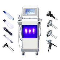 Nueva máquina multifunción 9 en 1 hidro dermoabrasión facial / diamante hidra microdermabrasión máquina peladora en venta SPA770 plus