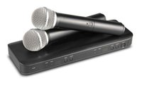 Profesyonel BLX288 UHF Kablosuz Mikrofon Karaoke Sistemi Çift Sahne DJ KTV LLFA için El Verici Mic