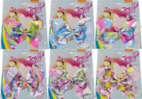 "HOT SALE JOJO SWIA 7"" Large unicorn Sequin Hair Bow For..."