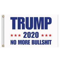 60pcs Donald Trump Bandera 150 * 90cm 2020 Bandera Trump Mantenga Flags America Gran Donald Presidente Por campaña de banners de jardín 3x5 FT