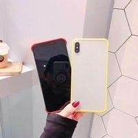 Cas de téléphone pour Samsung Galaxy note10 S10 plus Note9 S20 plus A7-2018 / A750 Note8 S10E dur PC TPU chaud